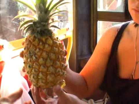 Ananasy w drodze do St. Lucia