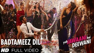 Badtameez Dil Full Song HD Yeh Jawaani Hai Deewani | Ranbir Kapoor, Deepika Padukone width=