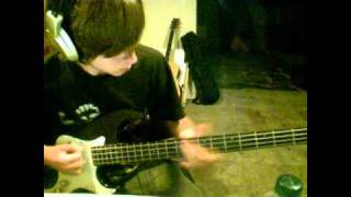 Lost Prophet - It's not the end of the world Bass Cover