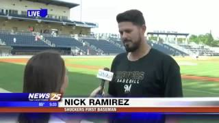 Live Interview with Shuckers First Baseman Nick Ramirez