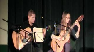 Duet Łukasz Chmiel i Natalia Drożdżowska - wernisaż młodości w DDK - 24.03.2012