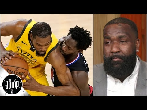 d8def10b6bd5 Kendrick Perkins and Tracy McGrady explain how Kevin Durant can overcome Patrick  Beverley