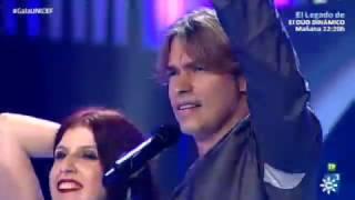 """Carlos Baute canta """"Amor y dolor"""" en la Gala UNICEF 2016"""