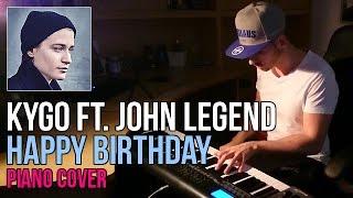 Kygo ft. John Legend - Happy Birthday | Marijan Piano Cover