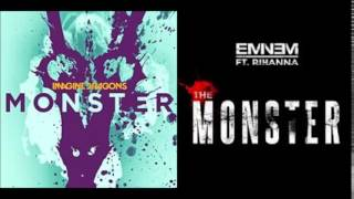 Eminem ft. Rihanna vs Imagine Dragons - Monster² (Mashup)