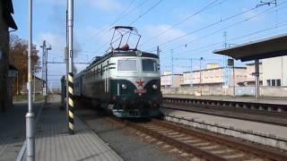 E 499.047 a 475.196 | přeprava parní lokomotivy