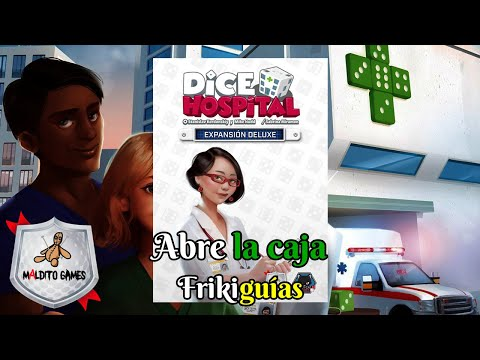 Reseña Dice Hospital: Deluxe Add-Ons Box