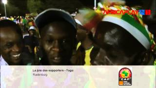 "CAN 2013 - Supporters togolais : ""On va ramener la coupe à la maison """