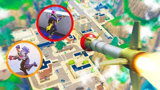 HIDE AND SEEK with GUIDED MISSILES in FORTNITE!