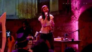 """Cocorosie """"K-Hole"""" Live @ Rouen 2010.04.30"""