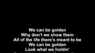 Brandon Beal feat. Lukas Graham - Golden / LYRICS