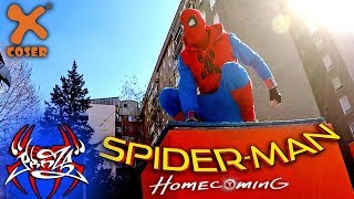 SPIDERMAN HOMECOMING PARKOUR in Real Life!