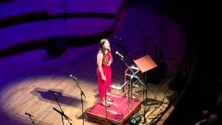 Somewhere Over The Rainbow by Eva Cassidy - Sara Davies at the Birmingham Symphony Hall