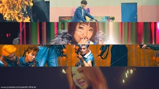 BTS & BLACKPINK & 2NE1 & NCT 127 - 'PLAYING WITH FIRE TRUCK' MASHUP