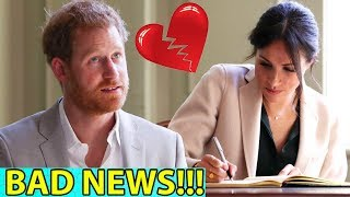 Bad news from Royal : Harry lost patience, refusing to wait for Meghan to sign a divorce agreement