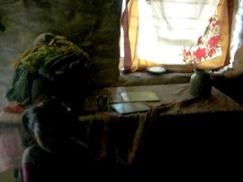 nepal 2010, het huisje van een nepalees