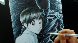 Speed Drawing - Nagai Kei (Ajin)
