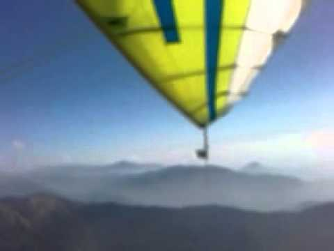 Microlight flight in Nepal