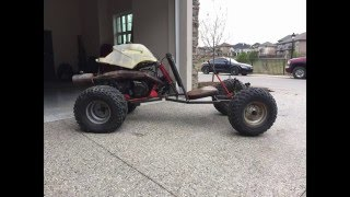 Buggy build from a 250 2 stroke quad