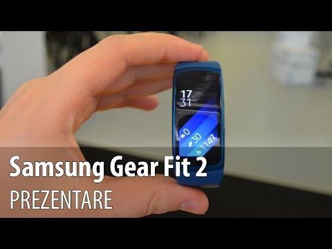Samsung Gear Fit 2 video-prezentare în Limba Romană