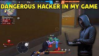 Dangerous Hacker in My game || Vamsi Nani gaming || Garena free fire🔥