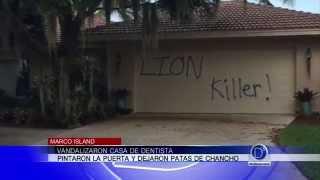 Vandalizaron casa del dentista que mato