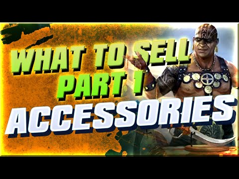 What to sell? Part 1 : ACCESSORIES I Raid Shadow Legends