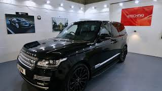 RB DETAILING - RANGE ROVER AUTOBIOGRAPHY DETAIL - GTECHNIQ CERAMIC COATING