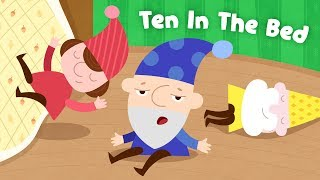 Ten in the Bed | Number Song for Children | Nursery Rhymes by Kids Academy