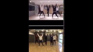 크나큰/KNK/クナクン - KNOCK Cover Dance by 츠나칸/TNK/ツナ缶 本人比較動画