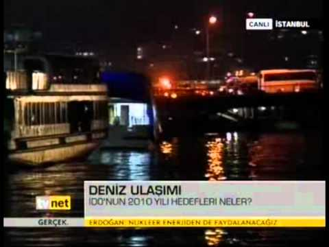 Tv Net - Acık Piyasa - Ahmet PAKSOY İDO'nun 2010 hedeflerini anlatıyor.(2009)