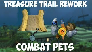 Clue Scroll Rework And Combat Pets!