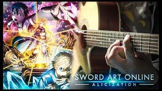 Sword Art Online ALICIZATION OP - ADAMAS - FINGERSTYLE GUITAR COVER