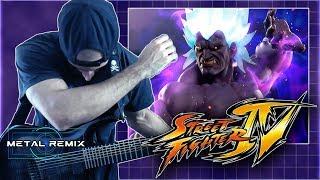 Street Fighter IV - Theme of Oni | METAL REMIX
