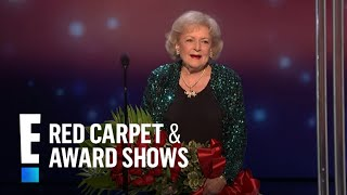 The People's Choice for Favorite TV Icon is Betty White
