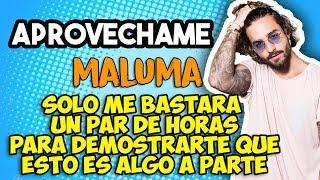 Maluma - Aprovechame (Letra)