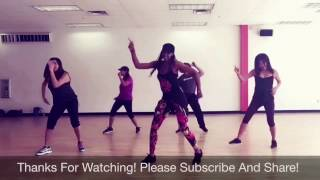 """No Lie"" by Sean Paul (ft. Dua Lipa) - ZUMBA with Kiesha"