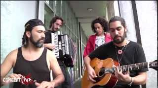 "La Yegros en session live acoustique ""Trocitos de madera"""
