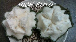 Rice Puto (Steamed Rice Cake)