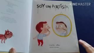 Soy un artista, Audiolibro para niños, Marta Altés, Blackie Books