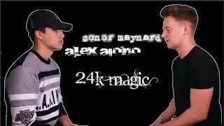 Lyrics: Bruno Mars - 24K Magic (Conor Maynard vs Alex Aiono Sing Off)