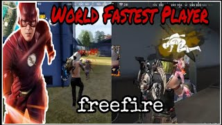 World Fastest Player In Free Fire   Who Is Fastest Player  B2K vs Ben Laden