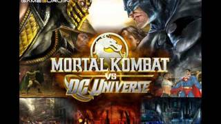 Round 2... Fight!  Mortal Kombat vs DC Universe