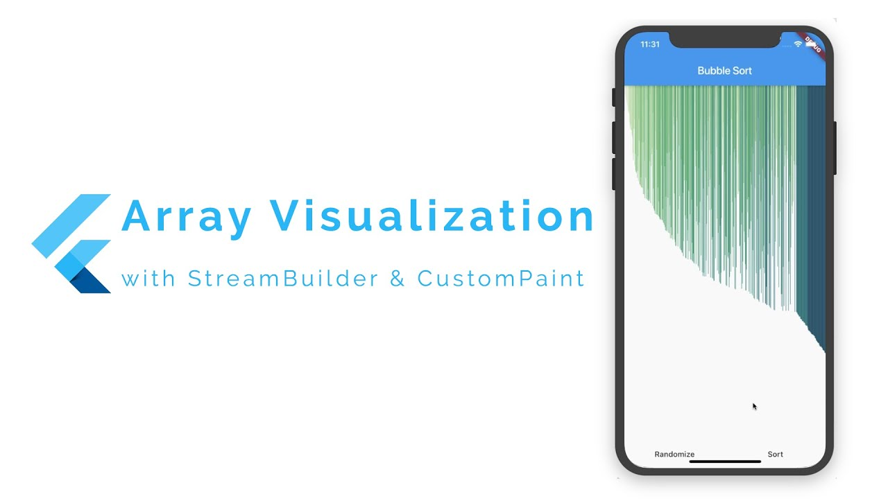 Array Visualization in Flutter