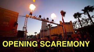 2018 Opening Scaremony Behind The Scenes - HHN 2018 (Universal Studios, CA)