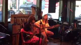 Bo and Mckenzie cover of Led Zeppelin, Going to California.
