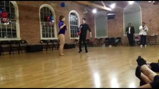 "Brandon and Thalia's ""Enseñame a Olvidar"" routine"