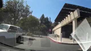 DMV Test drive Santa Clara with examiner part 4