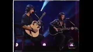 Jon Bon Jovi & Richie Sambora Bridge Over Troubled Water 1996