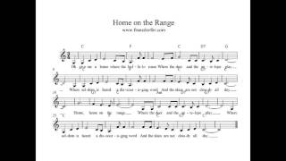 Play Clarinet   Home On The Range